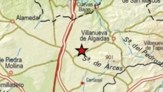 Registrado un terremoto de 3,5 grados en Villanueva de Algaidas