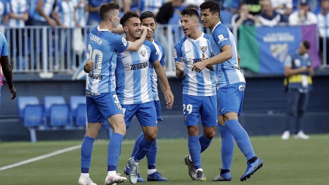 El Málaga CF vuelve a sonreir