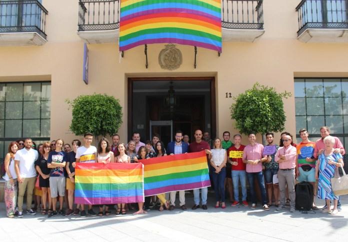 Vélez-Málaga se suma a las reivindicaciones del colectivo LGTBI en el 28J