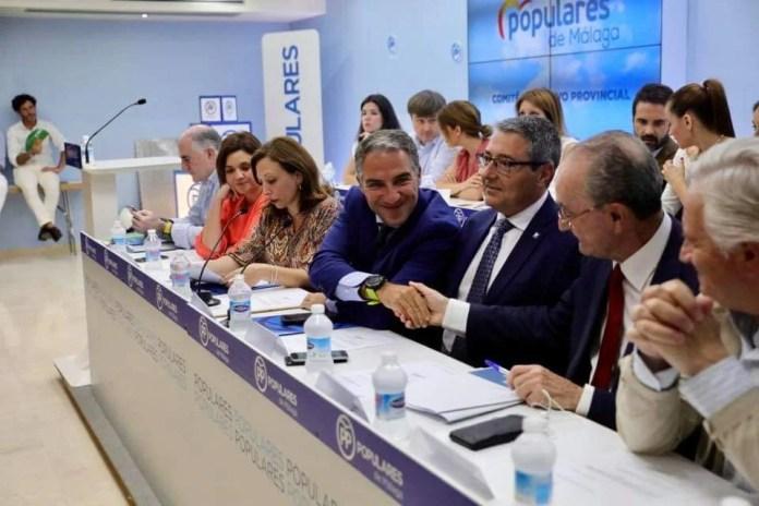 El Comité Ejecutivo del PP designa a Salado Escaño como candidato a presidir la Diputación de Málaga