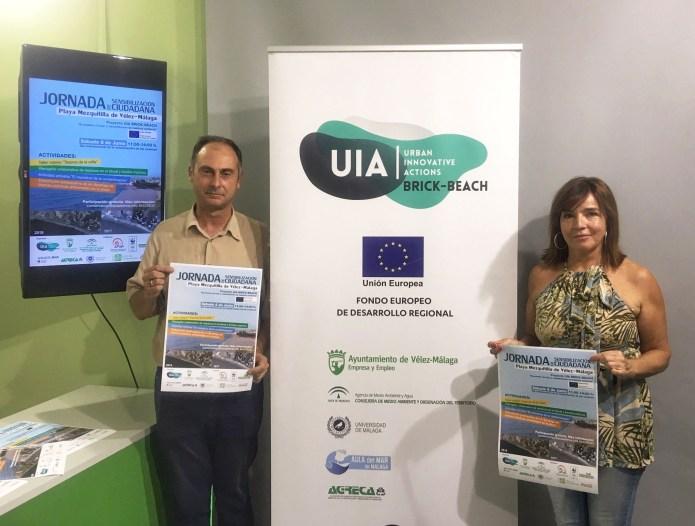 Vélez-Málaga organiza una jornada de sensibilización medioambiental integrada en el proyecto 'Brick-Beach'