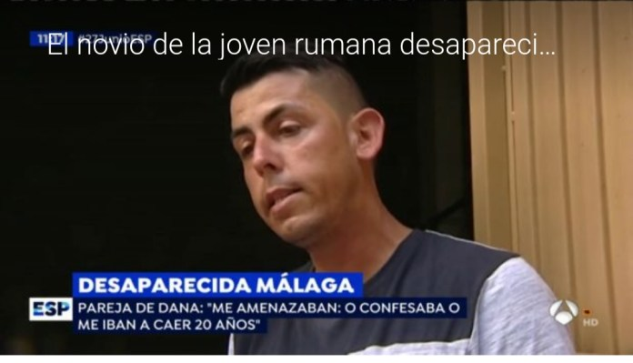 El novio de Dana, la joven desaparecida en Arenas: «Cuatro tíos me decían «Confiesa que has matado a Dana», pero no he sido yo»