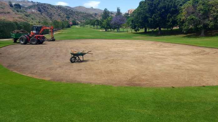 Añoreta Golf pone en marcha un gran proceso de renovación