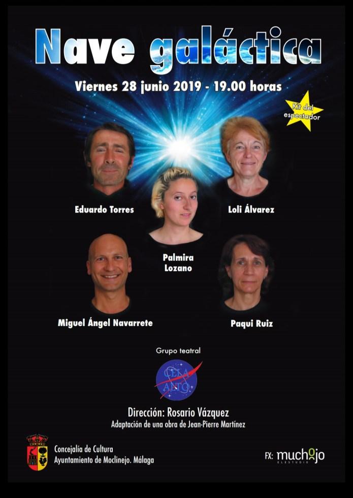 Obra de teatro en la Semana cultural de Moclinejo