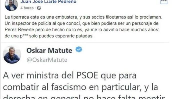 El portavoz de Vox en Murcia llama «p***» y «tiparraca» a la ministra Delgado y luego dice que no se refería a ella