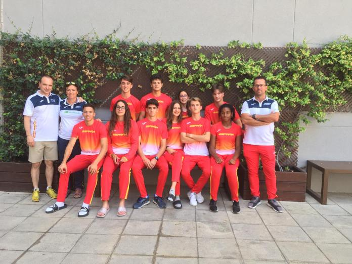 Gran actuación de los atletas del Club Nerja de Atletismo con la Seleccion Española