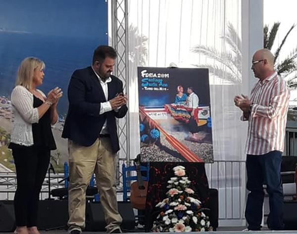 La Feria de Torre del Mar ya tiene cartel anunciador, obra de Aitor H. López