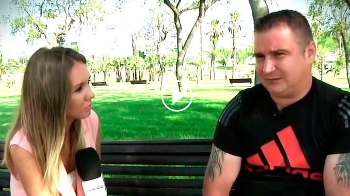 El hermano de Dana Leonte, en el programa de Telecinco.
