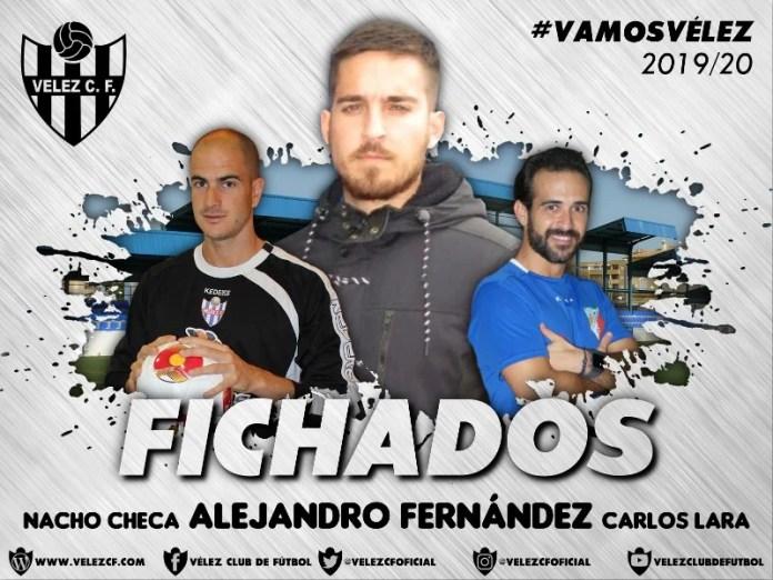 Alejandro Fernández, Nacho Checa y Carlos Lara formarán parte del cuerpo técnico del Vélez C.F.