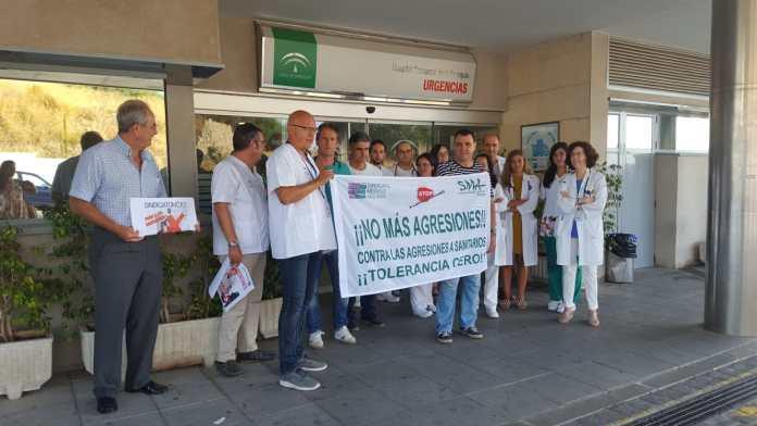 Las agresiones a médicos continúan incrementándose y se elevan a más de treinta en Málaga en lo que va de año
