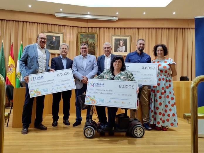 Vélez-Málaga y la UMA donan 7.500 euros a asociaciones locales