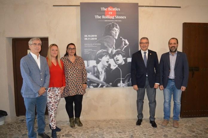 La exposición 'The Beatles VS. The Rolling Stones' de La Térmica llega a Rincón de la Victoria