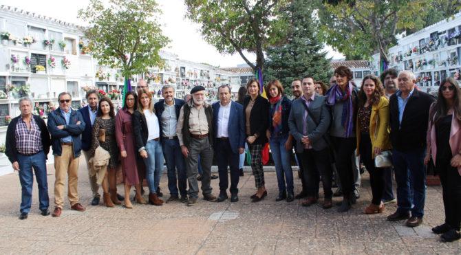 El PSOE pide el voto para seguir haciendo justicia con las víctimas que quedan en fosas comunes