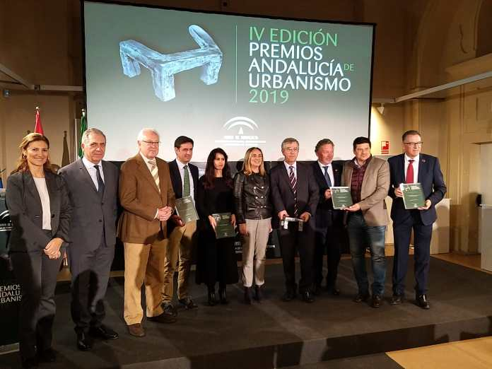 El servicio de Arquitectura y Urbanismo de la Diputación de Málaga, galardonado por la Junta de Andalucía por sus más de 40 años de trayectoria