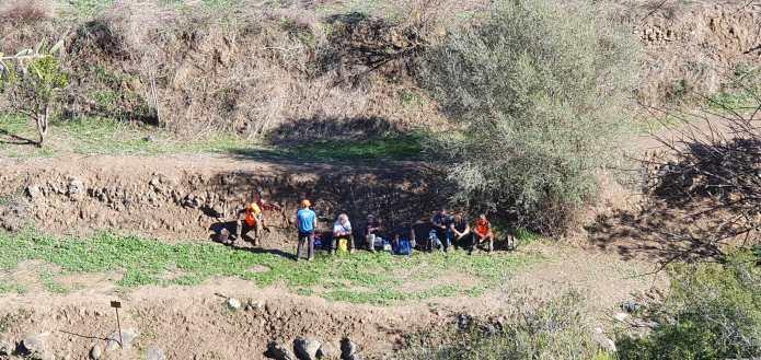 Analizarán los nuevos restos óseos y la ropa hallada en la batida de búsqueda de Dana Leonte