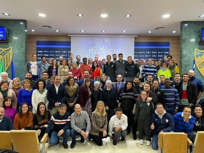La Fundación MCF celebra el 'Partido Solidario'