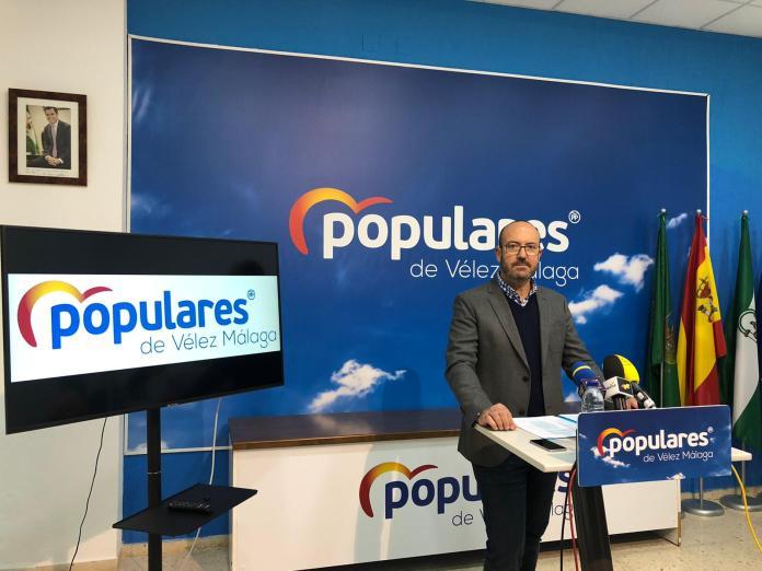 El PP pide que se estudie con urgencia la adhesión de Vélez-Málaga al Plan Itínere de la Junta para la mejora de caminos rurales