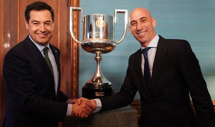 Moreno destaca la proyección internacional que tendrá Andalucía con las cuatro finales de la Copa del Rey de fútbol