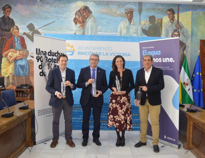 El Ayuntamiento de Rincón de la Victoria e Hidralia presentan la campaña de concienciación 'El valor del agua'