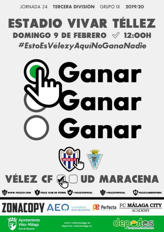 El Vélez CF se enfrentará a la UD Maracena