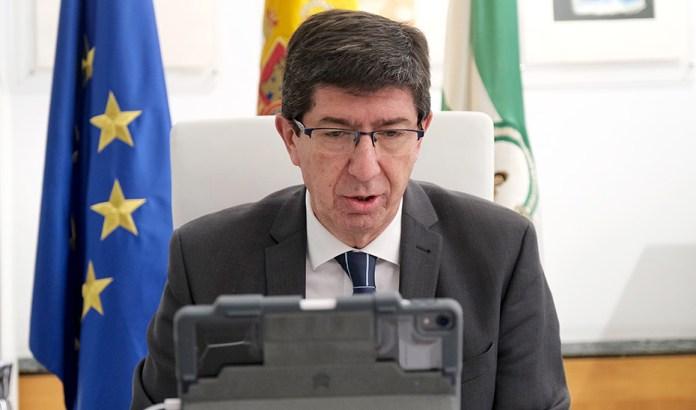 Marín asegura que el Gobierno ya trabaja en preparar a Andalucía para salir cuanto antes de esta crisis