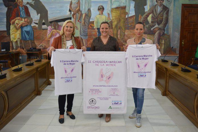 Bienestar Social organiza la II Carrera de la Mujer #RincónPorlaIgualdad que prevé una participación de más de 200 personas