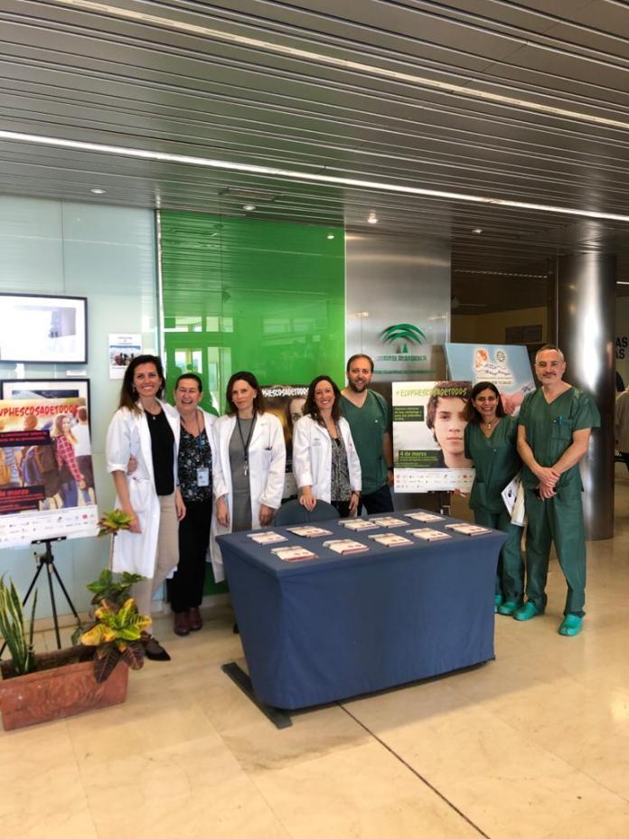 La UGC de Ginecología y Obstetricia del Hospital de la Axarquía celebra el Día Mundial de Concienciación sobre el Virus del Papiloma Humano (VPH)