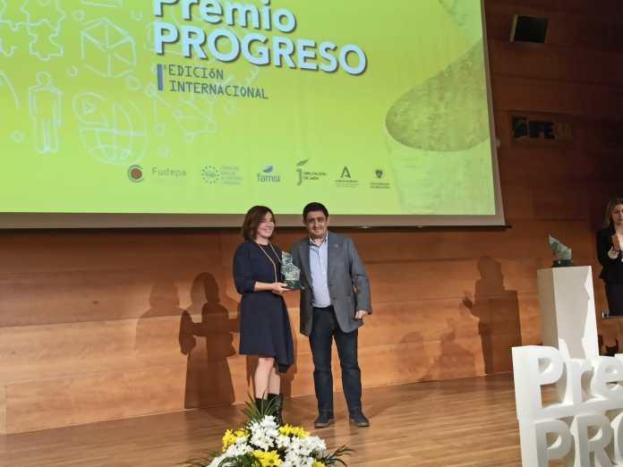 Vélez- Málaga recibe el Premio Progreso por el proyecto Brick-Beach