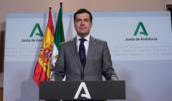 Moreno señala que Andalucía está en condiciones de afrontar un desconfinamiento progresivo y gradual por zonas