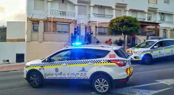 Policía Local y Protección Civil felicitan a los niños del municipio de Torrox en sus cumpleaños