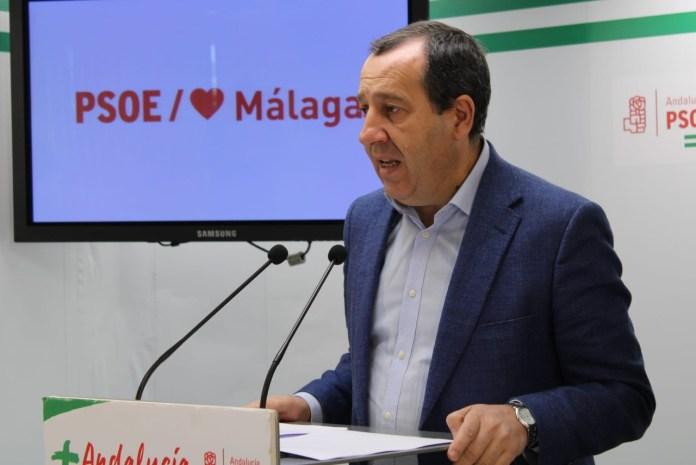 El PSOE pide respetar los criterios sanitarios y apunta que Málaga concentra el 37,5% de los contagiados activos por COVID-19 de Andalucía