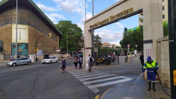 Málaga se sitúa como la provincia andaluza con más hospitalizados; con 79, de los que 6 están en UCI