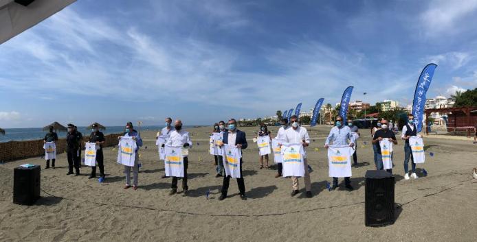La Mancomunidad Axarquía Costa del Sol repartirá 50.000 folletos con medidas y recomendaciones para lograr unas playas seguras, libres de COVID – 19