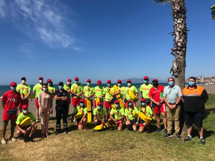 Rincón de la Victoria inicia la temporada de verano con la apertura de todos los servicios de playas que garantizan la seguridad e higiene frente al COVID-19