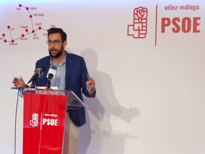 El PSOE de Vélez-Málaga lamenta los recortes de la Junta de Andalucía en los planes de empleo con respecto a años anteriores