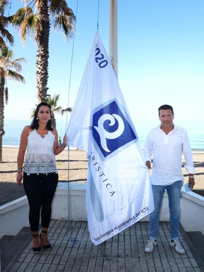 La Bandera Q de Calidad Turística ya ondea en las playas de El Morche y Ferrara