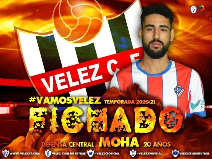 El Vélez C.F. anuncia el fichaje del defensa central Moha