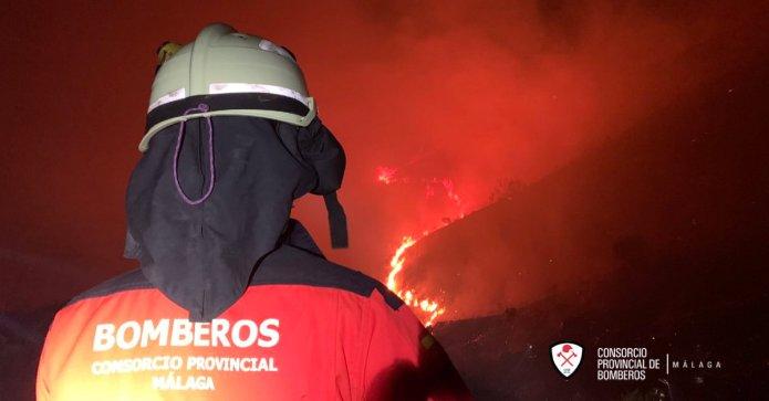 Desalojadas de forma preventiva casi medio centenar de personas por un incendio declarado en Colmenar