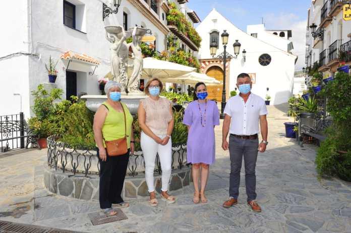 La Diputación destinará 293.993 euros del Plan Málaga al municipio de Canillas de Albaida