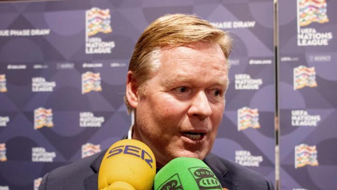 Ronald Koeman, el candidato para sustituir a Setién, ya está en Barcelona