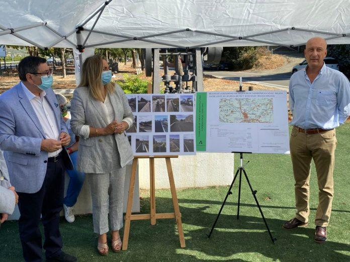 Finalizan las obras de la carretera A-356 a su paso por Vélez-Málaga