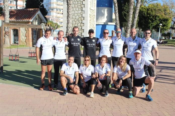 El Club Running Playas de Torre del Mar adhiere al proyecto solidario 'Héroes Anónimos'