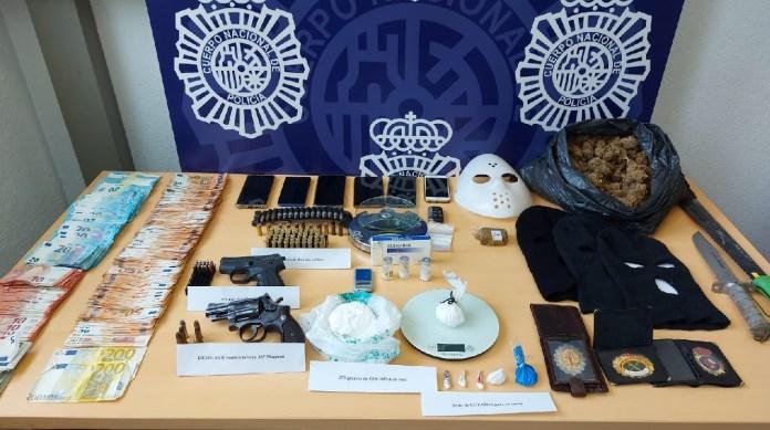 La Policía Nacional desarticula en Málaga una organización criminal dedicada al tráfico de cocaína de alta pureza