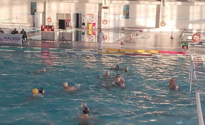 Victoria y empate del Waterpolo Málaga Inacua en una doble jornada productiva de la Copa Andalucía