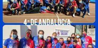 El Club Atletismo DELSUR ha participado este fin de semana en el Campeonato de Andalucía de Clubes Absoluto al Aire Libre celebrado en Andújar.