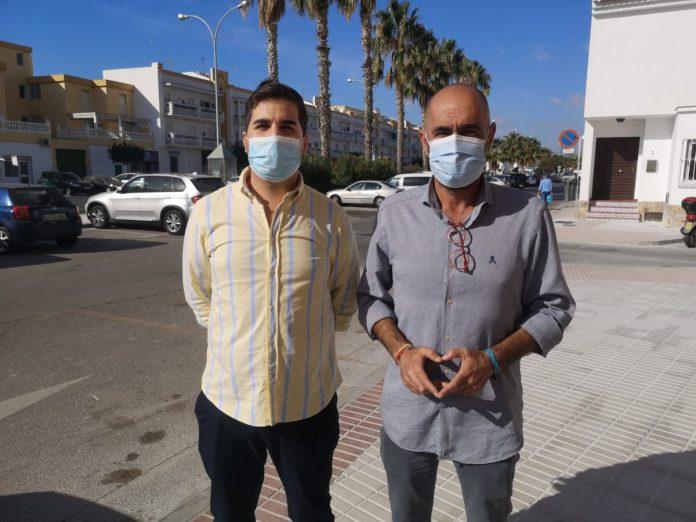 Finalizan las obras del PFEA en las calles 'Colonias del Puerto' de Caleta de Vélez