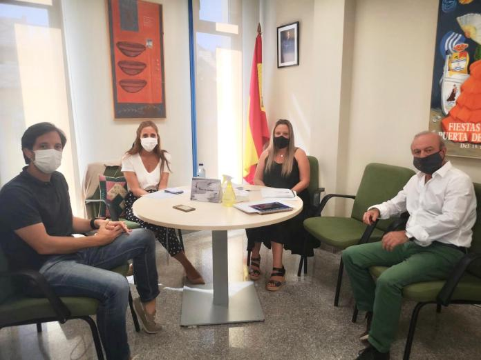 El Ayuntamiento de Rincón se reúne con CLECE, la empresa adjudicataria del Servicio de Ayuda a Domicilio