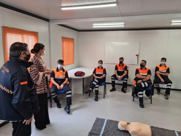 Comienza la formación de nuevos voluntarios de Protección Civil en Rincón de la Victoria