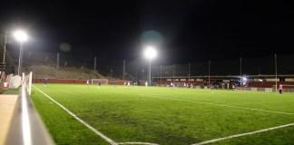 El Campo de Fútbol Municipal `Francisco Romero´ de Rincón de la Victoria ya dispone de iluminación deportiva con tecnología LED.