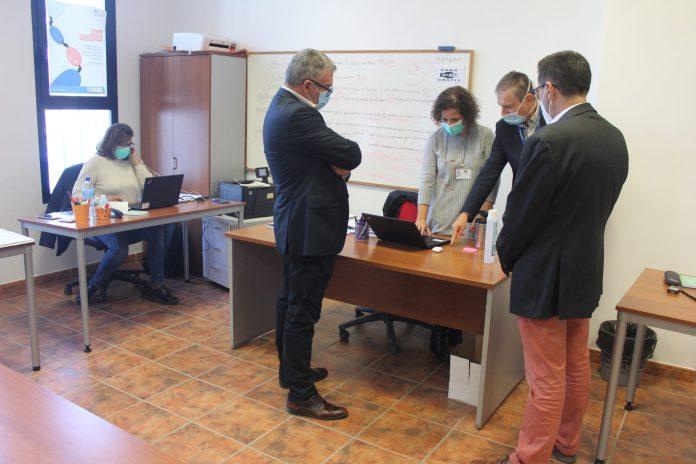 El Área Sanitaria Málaga-Axarquía dispone de dos puntos externos para el trabajo de sus rastreadores y enfermeros referentes de centros educativos